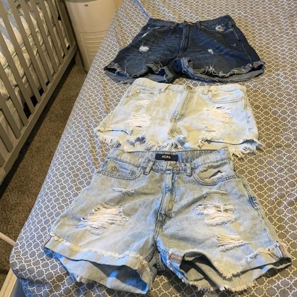 Jean shorts bundle set 👖🩳